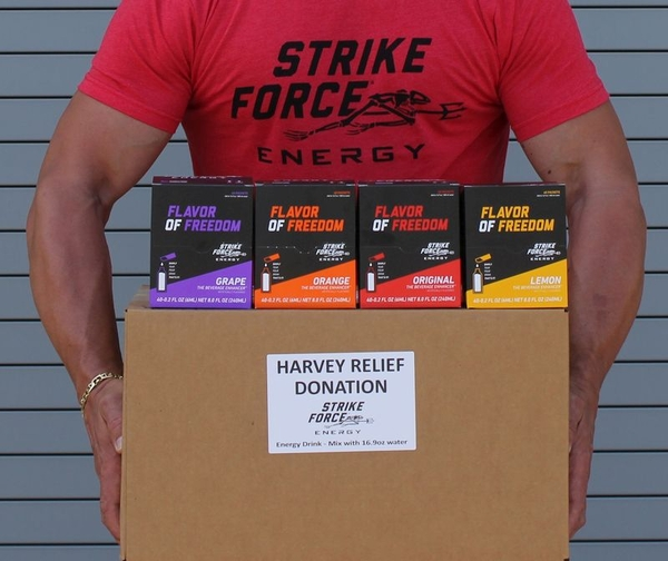 Strike Force Beverage: Energizing the Relief Efforts in Texas