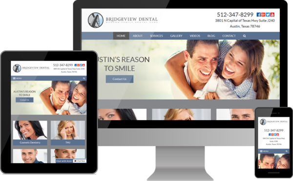 BridgeView Dental Gives Patients in Austin, Texas, a Reason to Smile with New Website