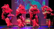HTCMLI perform Lion Dance at the Kennedy Center