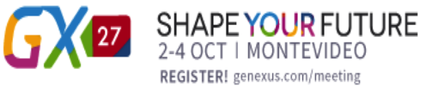 The AI Digital Future Will Come True in Uruguay This October at GeneXus GX27 Conference — Shape Your Future!