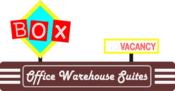 <strong>Cutline #2: Box Office Warehouse Suites Logo</strong>