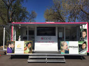 The Hear the Music Mobile Clinic consists of SIX hearing testing kiosks!
