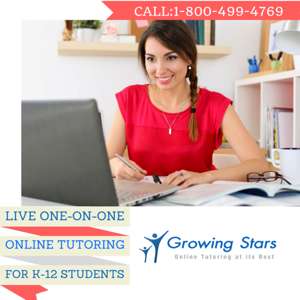Growing Stars, Inc., the Online Tutoring Expert, Launches Back-to-School Online Tutoring Program for K-12 Students Across the United States