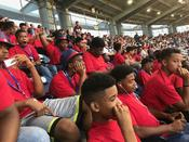 The 13th Man participants kick off the Summer Classics Weekend attending the Washington Nationals Game.
