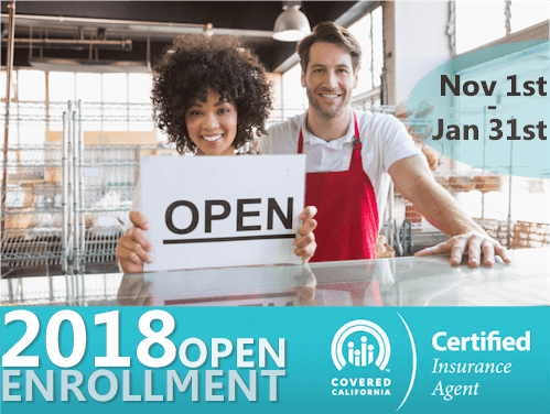 2018 Covered California Open Enrollment Is Coming! (Technically, So Is Winter)