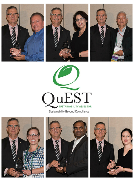 QuEST Forum Announces Third Annual Global Sustainability Awards Winners