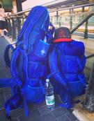 <strong>The Wanderlust Travel Backpack set on the road in Italy</strong>