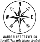 <strong>Wanderlust Travel Co. company logo</strong>