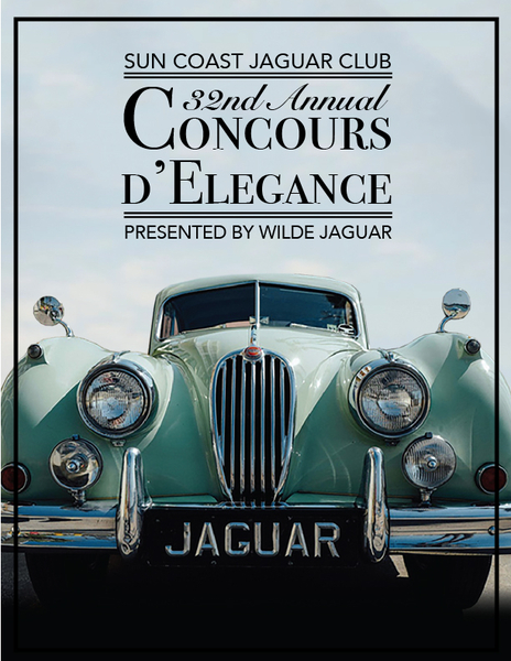 Sun Coast Jaguar Club Concours d'Elegance 2017 to Showcase World-class Collections
