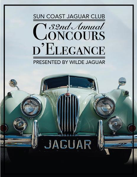 Sun Coast Jaguar Club Concours d'Elegance 2017 to Showcase World-class Collections