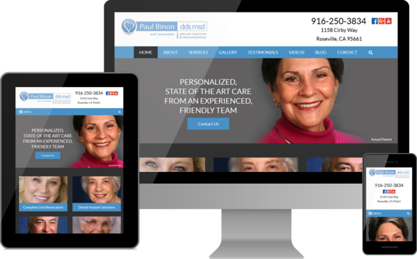 Prosthodontist Dr. Paul P. Binon Launches New Website for Patients Seeking Dental Implants, Other Tooth Replacement
