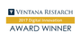 Ventana Research Announces the Digital Innovation Award Winners for 2017