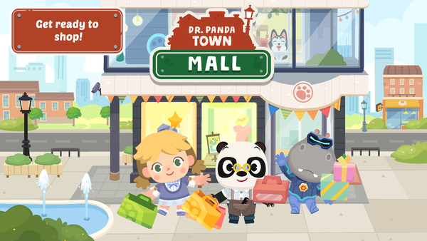Shop 'til You Drop in Dr. Panda Town: Mall!