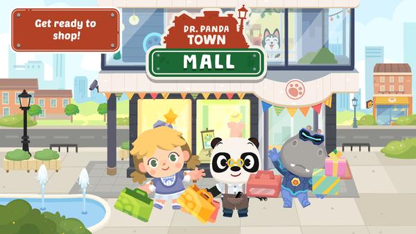 Shop 'til You Drop in Dr. Panda Town: Mall!
