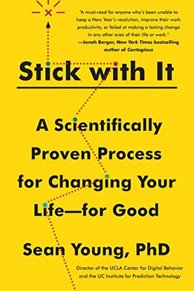 """Stick with It"" Author Dr. Sean D. Young: Book Tour, NYC, Oct. 4"