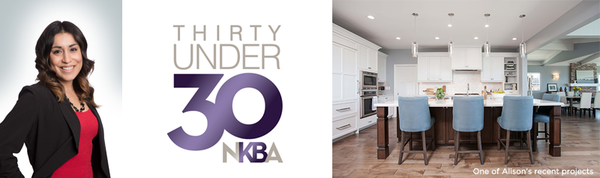 "Jackson Design & Remodeling's Alison Green Named One of Nation's Outstanding Young Designers in NKBA's Prestigious ""Thirty Under 30"" Program"