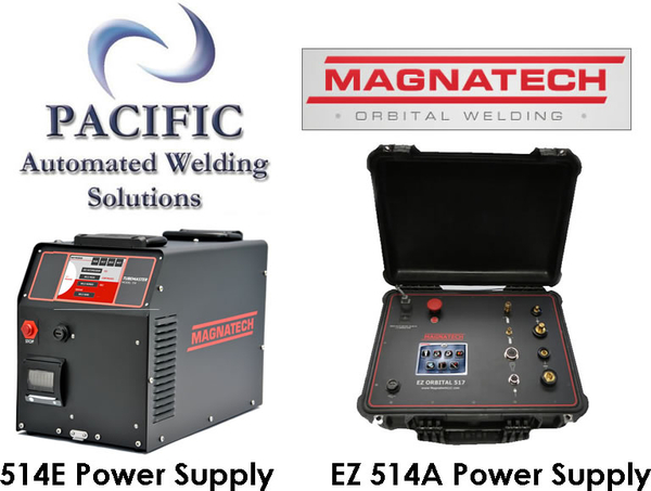 Pacific Automated Welding Solutions Announces New Magnatech Power Supply Models with True Digital Control and Color Touch-Screen Monitor and the M500 Weld Head for Tube Welding Applications