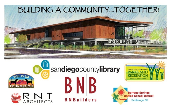Building a Community … Together! New Library & Community Park Project Ground Breaking in Borrego Springs Coincides With Borrego Days Parade October 21