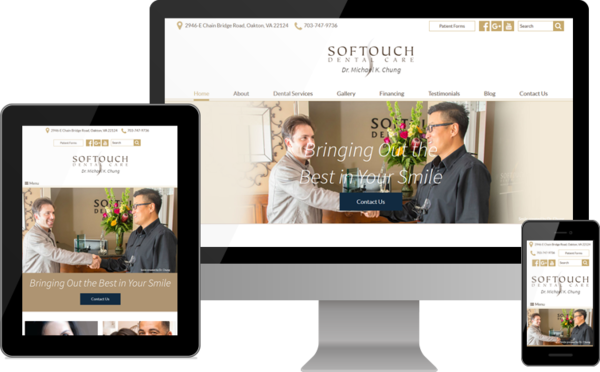 Softouch Dental Care Launches Redesigned Website for Patients in Northern Virginia & Washington, D.C.