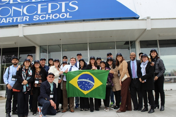 Global Concepts Charter School hosts Brazillian Delegation of 21 Educators