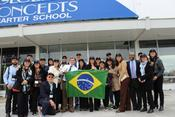 <strong>Brazilian Educators visit Lackawanna, NY Charter School</strong>