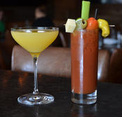 <strong>Get your Mimosa and Bloody Mary fix at Angelo's Wine Bar