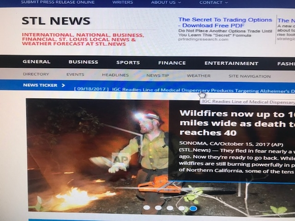 "St. Louis Media, LLCs' publication STL.News ""State of Publication"""