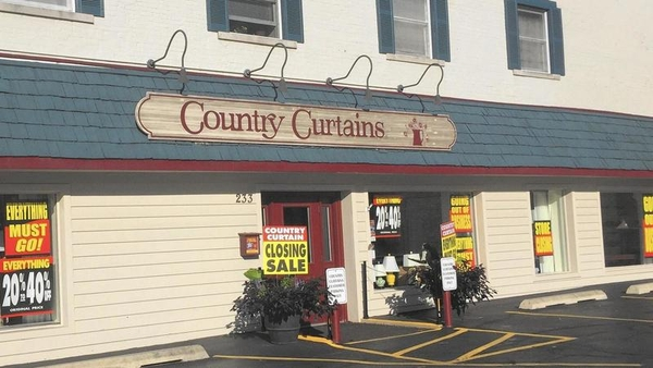 Total Liquidation Sale Commences at all Country Curtains Locations Nationwide and at www.countrycurtains.com