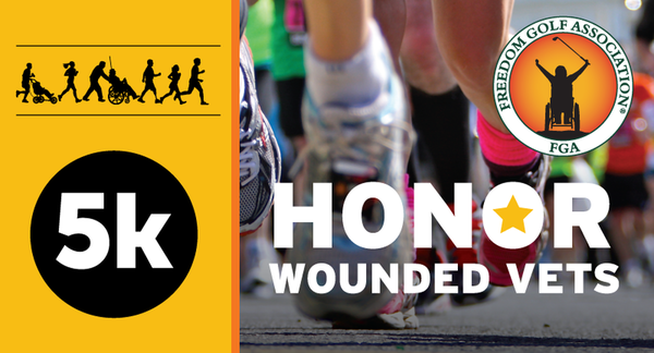 "Freedom Golf Association's ""Honor Wounded Vets 5K Run/Walk"" at McDonald's Corporate Campus in Oak Brook Rescheduled for October 29"