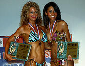 <strong>Toni competed in her first natural figure competition at 48, tying for first place in the Sports Model category and taking second overall in Figure the same year.</strong>