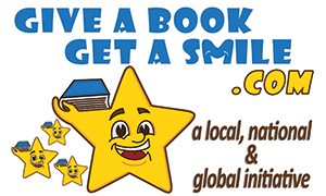 The Authors Show Launches US And Global Children, Teen, Adult Literacy Project, 'Give A Book, Get A Smile'