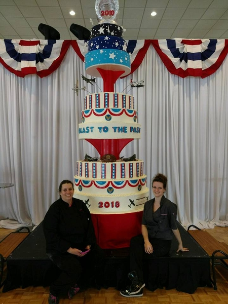 Icing on the Cake Creates 14-Foot Cake for Air Force Academy Ball