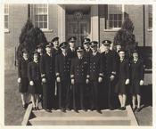 <strong>&quot;Official Navy Photograph&quot; Date March 1944. US Naval Air Station, Seattle, Wash. Sand Point Dispensary Dental Clinic. (Bertha 3rd. woman Left)</strong>
