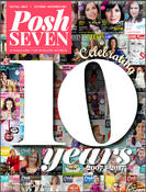 <strong>Cover of Posh Seven Magazine 10th Anniversary Issue October 2017</strong>