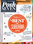 <strong>Cover of Posh Seven Magazine Best of Suburbia Survey</strong>