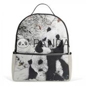 Animal backpack bag travel shoulder panda rucksack