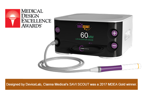 DeviceLab-Designed Wireless SAVI SCOUT Wins 2017 MDEA Gold