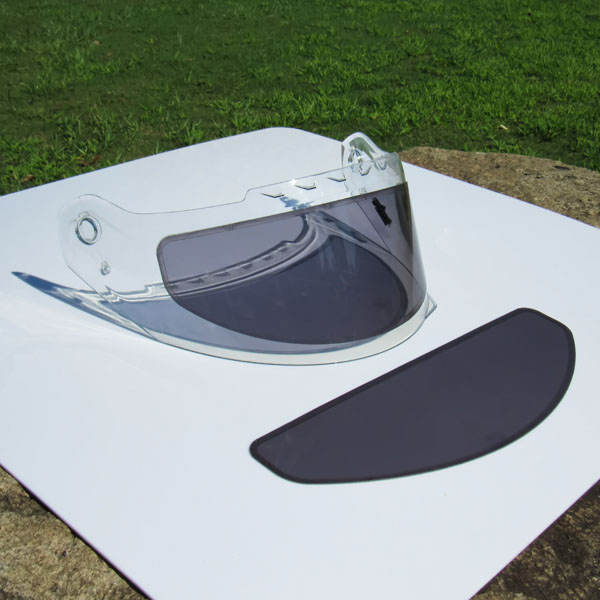 WeeTect Designed Photochromic and Hydrophobic Visor Insert That Remove Glaring and Water on Helmet Visor