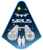 Patch for the SIRIUS analog missions in Moscow, Russia.