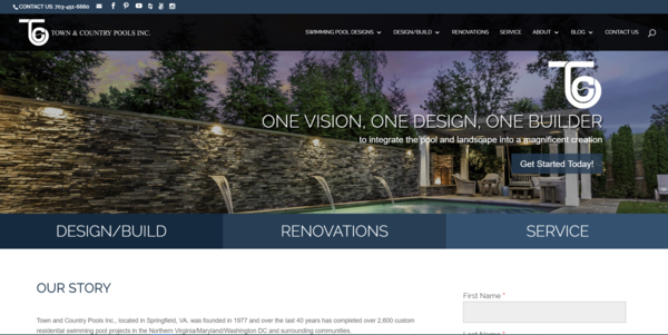 New Website for Swimming Pool Designs, Money Saving Tips