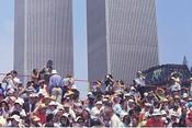 <strong>Bicentennial Crowd in New York Awaiting the Arrival of the Tall Ships, World Trade Center in Background</strong>