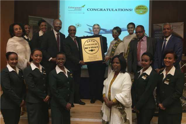 Ethiopian Airlines Group Awarded 4-Star Ranking by SKYTRAX; Announces 6th Gateway to the Americas