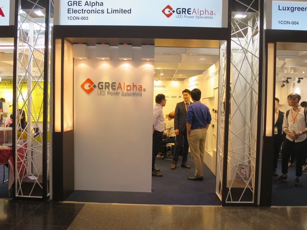 GRE Alpha Exhibits New Products at Hong Kong Lighting Fair