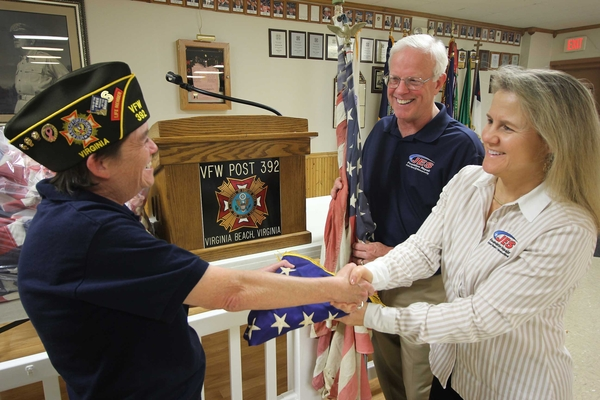 JES Foundation Repair Honors Veterans Through American Flag Retirement Efforts
