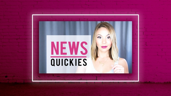 "Stephanie Martinez of ""News Quickies"" Explains Today's Headlines in 90 Seconds or Less"