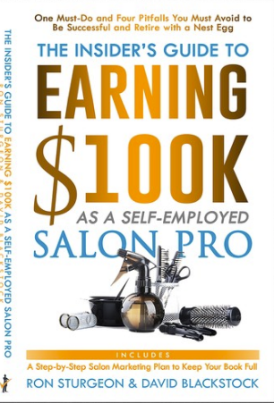 Business Consultant & Blue-Collar Millionaire Ron Sturgeon Co-Authors Book for Independent Beauty Professionals