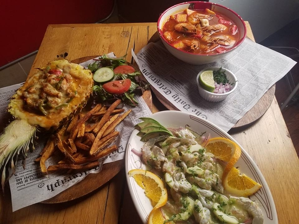 Chef Ambrosio Mancines' T&B Grill Reopens as his New Mexican Seafood Restaurant Mariscos Sirena