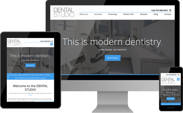 The DENTAL STUDIO Unveils Modern Dentistry Website for Patients in and around San Francisco