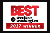 <strong>Best of Western Washington 2017 Winner</strong>
