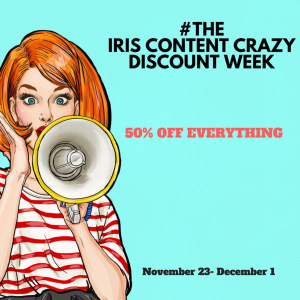 Iris Content Announces Crazy Discount Week